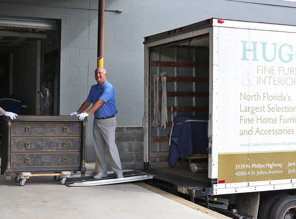 Furniture Delivery and Installation by Hugo's Interiors - Jacksonville, Florida