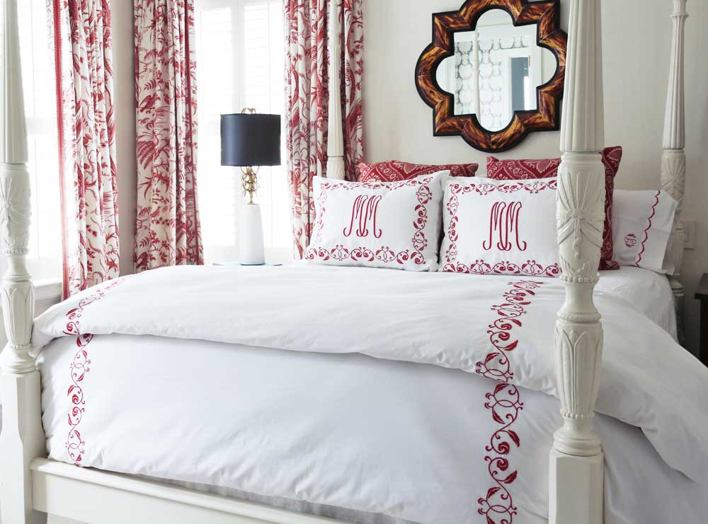 Linens & Bedding By Hugo's Interiors - Jacksonville, FL