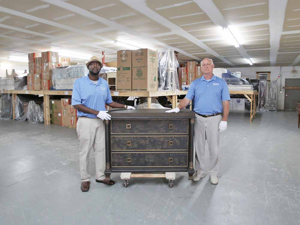 Hugo's Interiors Furniture Storage Services - Jacksonville, Fl
